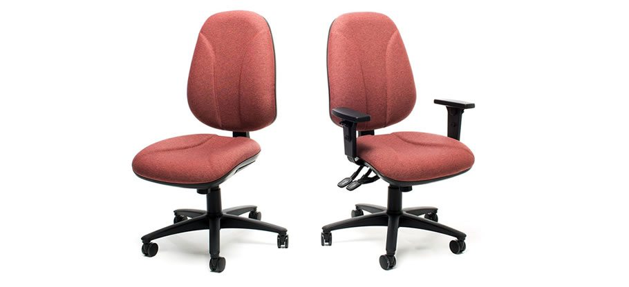 Lombare office chairs. Operator and task seating