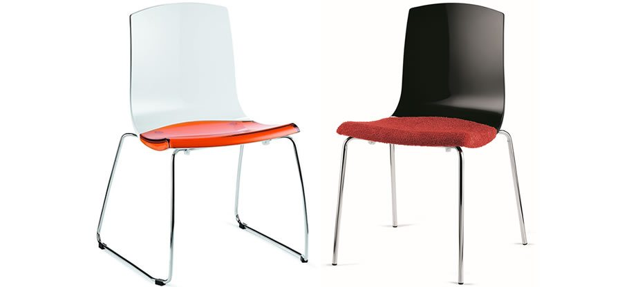 The Smile is ideal for domestic, restaurant or dining environments, hospitality, meeting and conference rooms