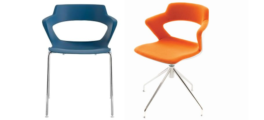 Zenith. A vibrant colour palate provides the additional 'wow-factor' in any office, meeting room and canteen or even your home